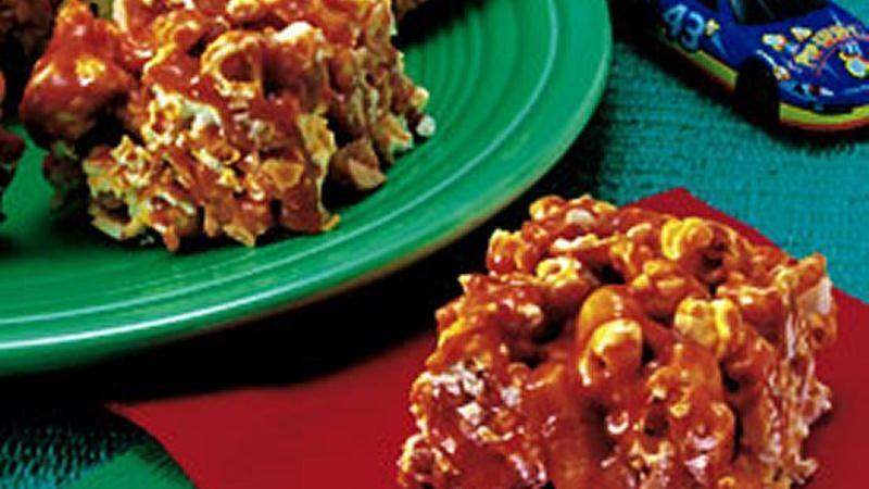 Caramel-Popcorn Bars