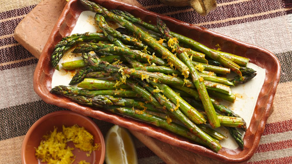 Mexican Roasted Asparagus