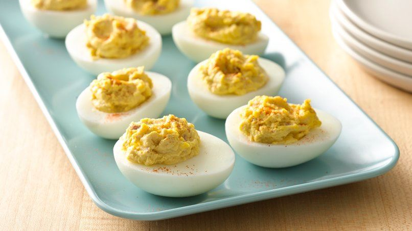 Zesty deviled eggs for Table 52 deviled eggs recipe