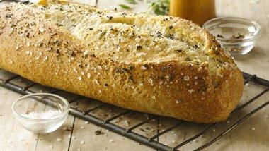 Sea Salt and Cracked Black Pepper Italian Loaf