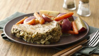 Slow-Cooker Pork and Potatoes with Rosemary