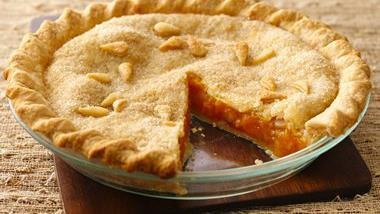 Gingered Apricot Pie