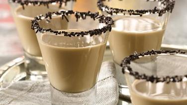 Chocolate Coconut Cocktails