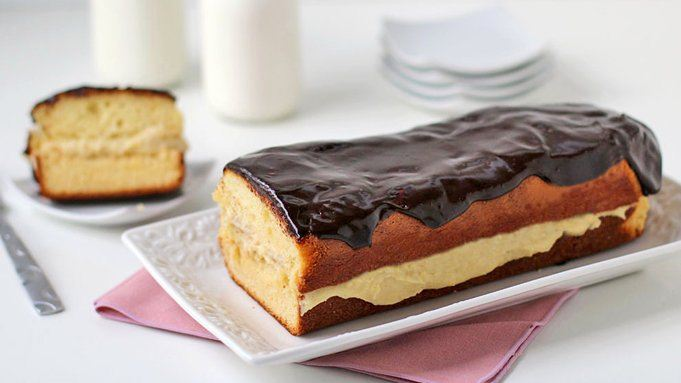 Tablespoon Chocolate Eclair Cake