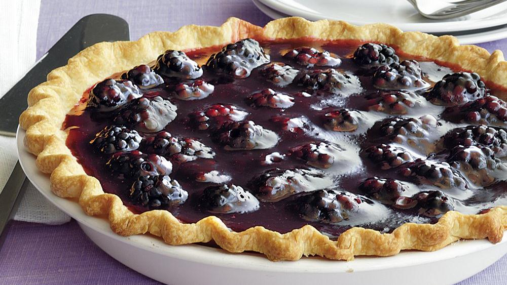 Fresh Blackberry Pie