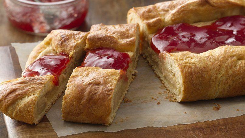 PB&J Breakfast Danish