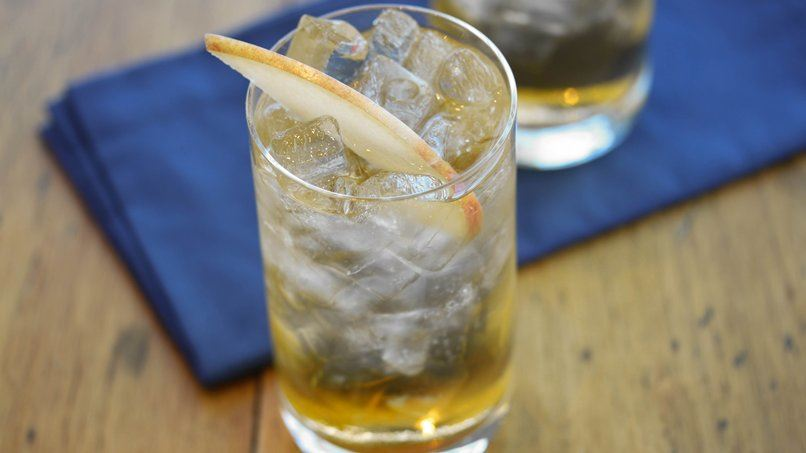 Smoky Apple Cider Cocktail