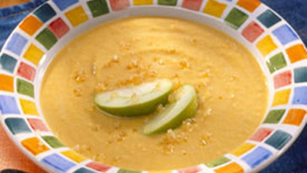 Squash and Apple Bisque