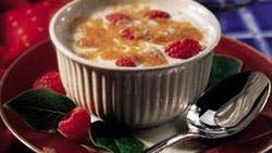Raspberry Brûlée