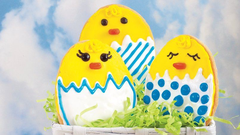Hatching Chick Cookies