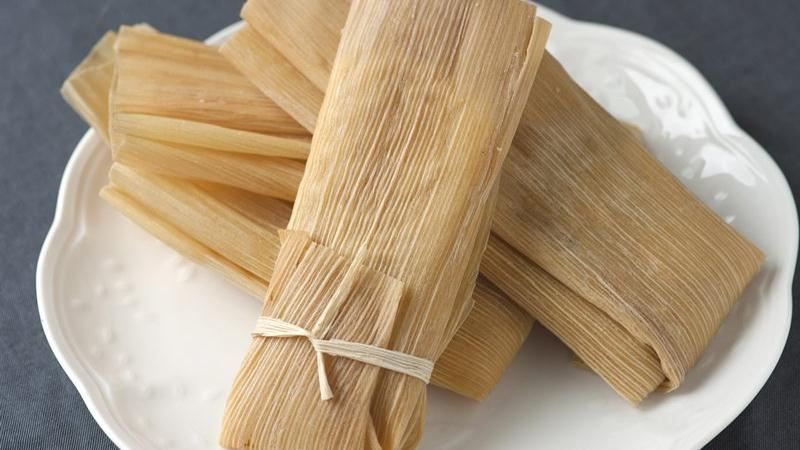 Chicken, Chiles and Cheese Tamales
