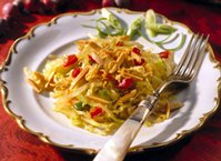 Frozen Asian Cabbage Salad