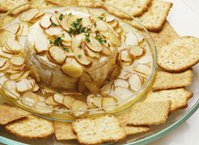 Brie with Almonds