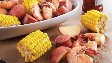 Slow-Cooker Low Country Boil