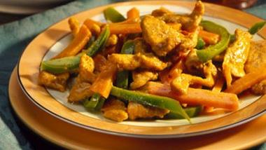 Curried Pork and Sweet Potatoes