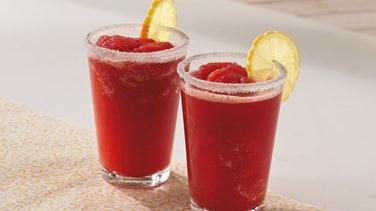 Strawberry Spritzer Punch