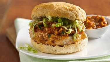 Thai Chicken Burgers