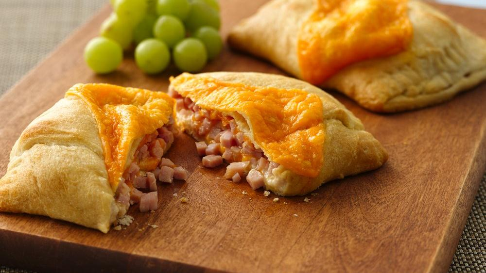 Big & Cheesy Ham Pockets