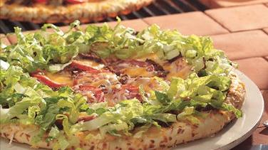 Grilled Taco Pizza