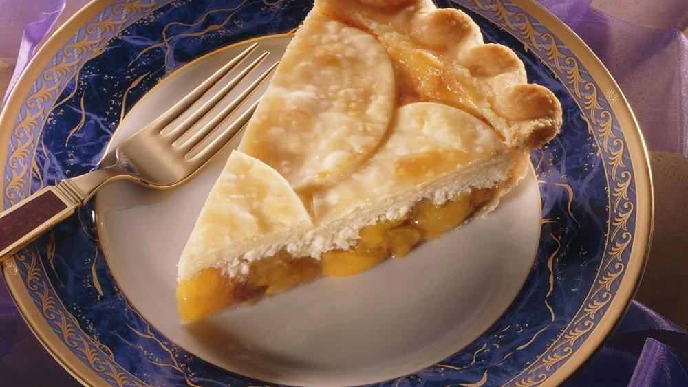 Peacheesy Pie