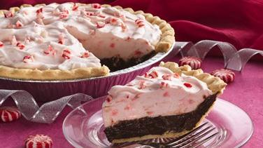 Peppermint-Mallow Chocolate Cream Pie