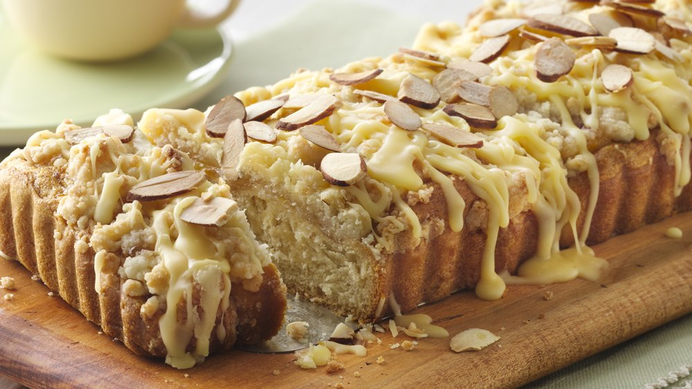 Sweet Orange and Toasted Almond Coffee Cake