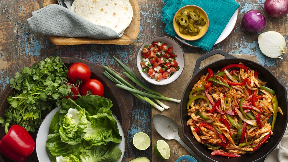 BBQ Chicken Fajitas