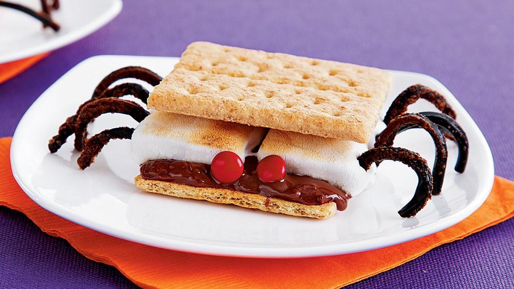 Spider S'mores