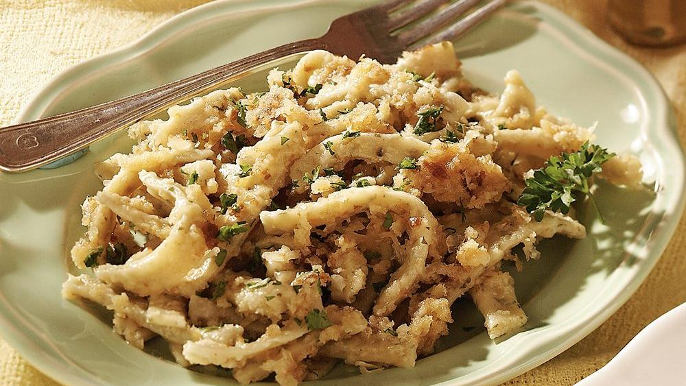 Parsley Noodles with Parmesan