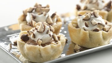 Mini Malted Milk French Silk Pies