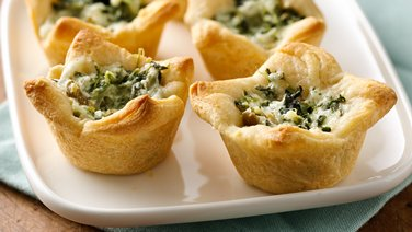 Kickin' Spinach Cheese Bites