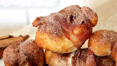 French Toast and Bacon Bombs