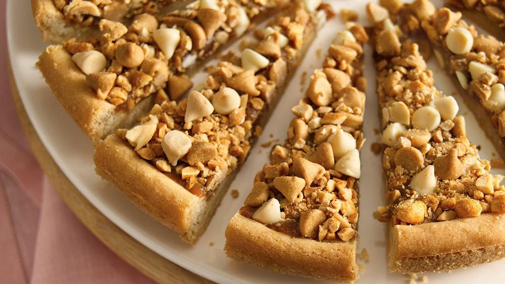 Nutty Caramel Cookie Tart