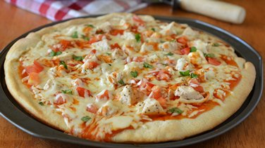 Enchilada Pizza
