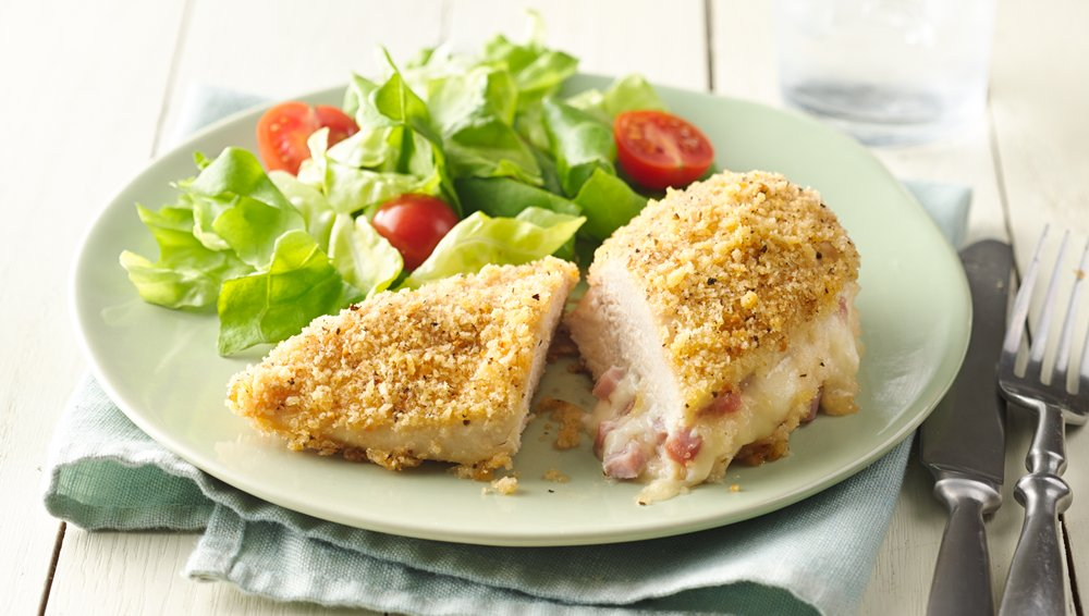 Stuffed Chicken Breasts Cordon Bleu