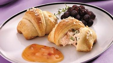 Crab-filled Crescent Snacks