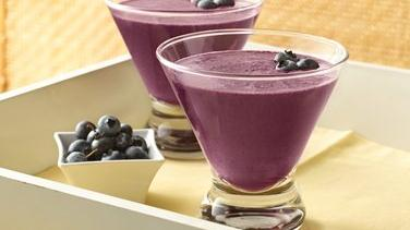 Blueberry-Pomegranate Smoothies