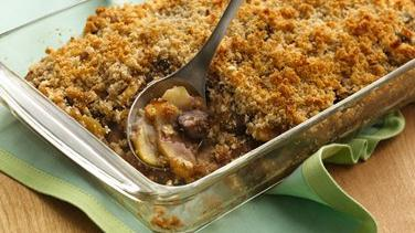 Apple-Fig Brown Betty