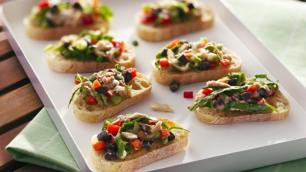 Tuna Salad Bruschetta