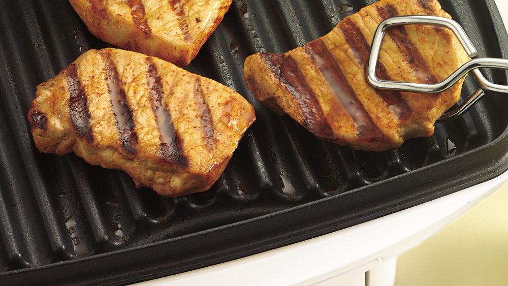 Chili-Lime Grilled Pork Chops