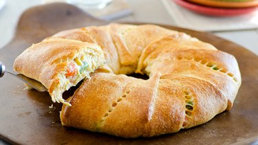 Chicken Pot Pie Crescent Ring