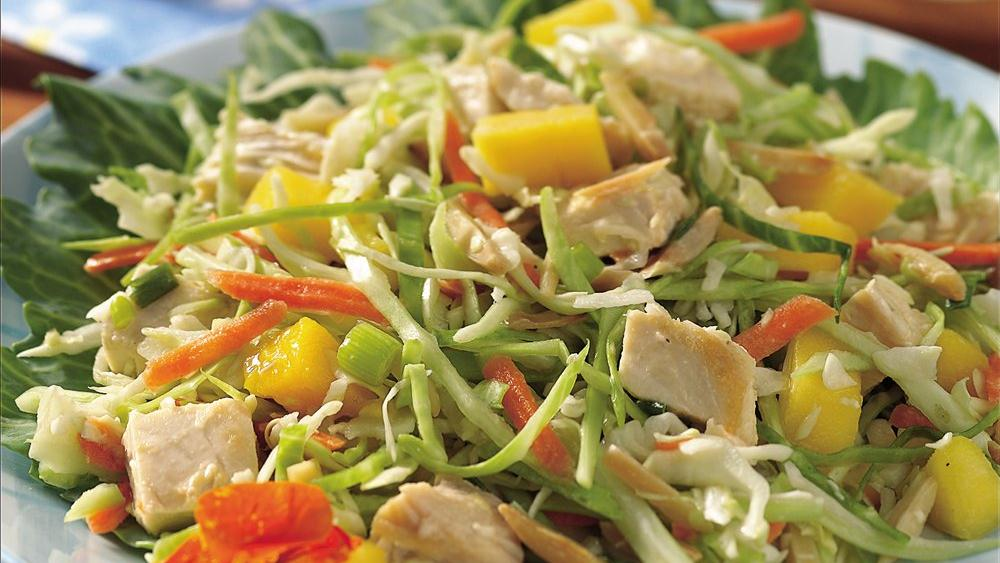 Tangy Mango Chicken Salad