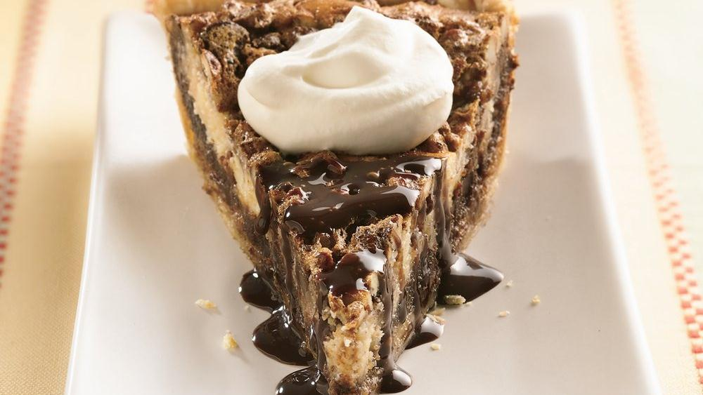 Chocolate Surprise Pecan Pie
