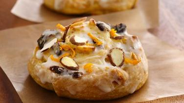 Orange-Cherry-Almond Pinwheels