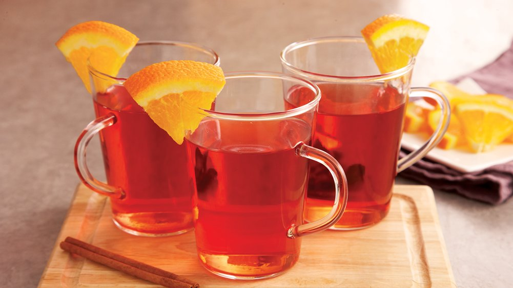 Spiced Cranberry-Apple Cider