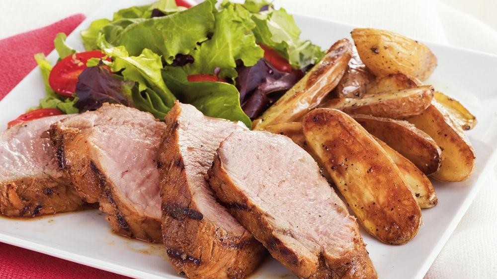 Grilled Herb Pork Tenderloin