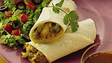 Slow-Cooked Green Chile Pork Roll-Ups