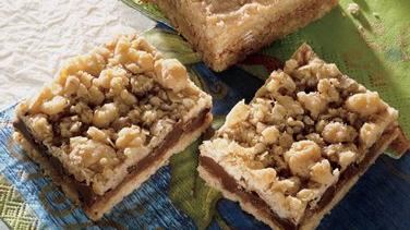 French Coconut Pecan Bars