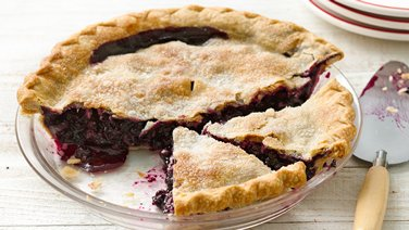 Easiest Ever Blueberry Pie