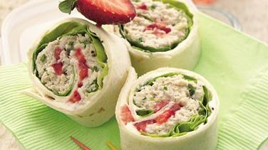 Chicken Salad Roll-Ups